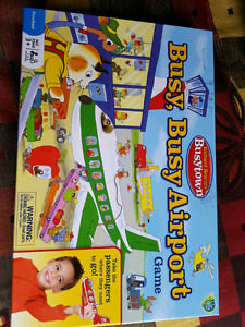 Brand new busy busy airport game set for $10.