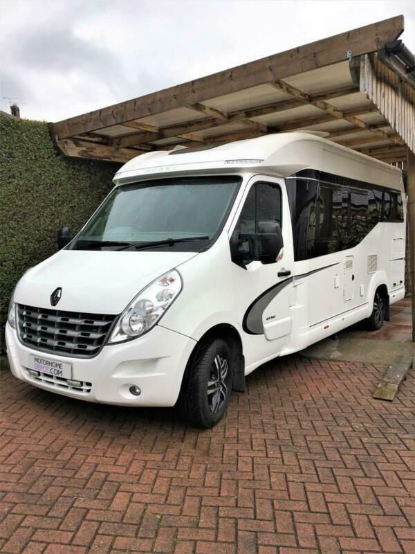 3df257ee62 Hobby Premium Van 65 GE Luxury Low line Fixed rear Bed Motorhome For Sale