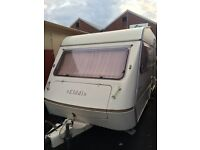 2 berth elddis wisp with the awning and extras and NO DAMP
