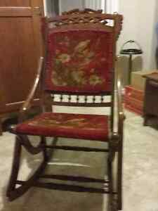 Folding Carpet Rocker - Reduced!!! Peterborough Peterborough Area image 1