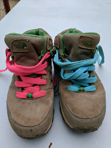 Childrens North Face Hiking Boots