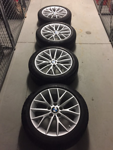 "17"" BMW Wheels and tires"