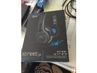 Boxed like new. SMS 50 cent Street Headphones