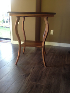 Antique corner table