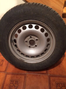 "GISLAVED NORDFROST 16"" WINTER TIRES ON RIMS"