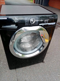 A+++ class 9kg 1400 spin Black Hoover washing machine