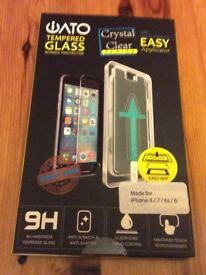 iPhone tempered glass protector