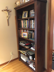 Bookcase and Large shelving unit