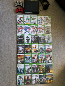 Xbox 360 and 35 games !