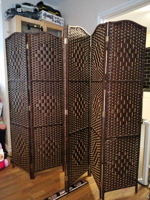 Tremendous 6 Panel Room Divider Screen In Everton Merseyside Gumtree Download Free Architecture Designs Crovemadebymaigaardcom