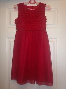 Girls Christmas Dress size 12 Peterborough Peterborough Area image 1