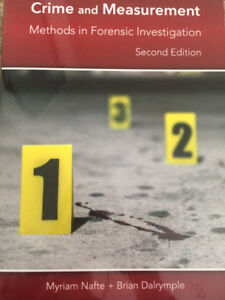 Crime And Measurement by Nafte (2nd edition) (CSI course)
