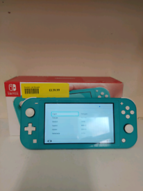 Nintendo switch lite hand held games console