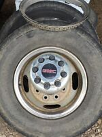 GMC Dually Rims and Tires