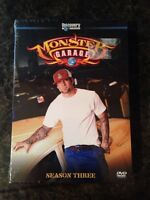 Monster Garage season three DVD set unopened Jesse James