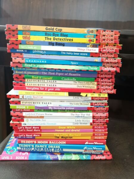 educational books 34 story books for only $10