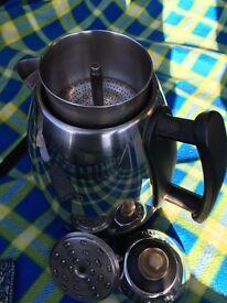 Dualit electric coffee percolator