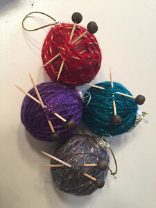 Rustic Handmade Holiday Ornaments St. John's Newfoundland image 8