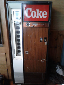 Late 60s - Early 70s Vendo V90 Coke Machine