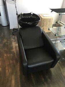 Hair salon shampoo chair/chaise de Shampoo de salon de coiffure