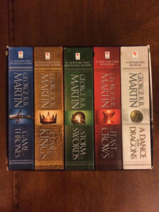 GAMES OF THRONES BOXED SET - A Song of Ice and Fire Cambridge Kitchener Area image 2