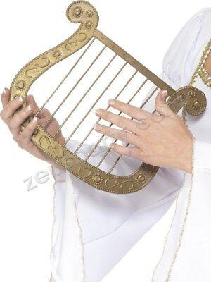 HARFE GOLDEN Karneval Zubehör Kostüm Engel Olymp Dea Gott 115 - Engel Harfe Kostüm