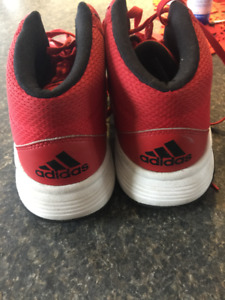 boys /men's lacrosse or basketball shoes Adidas sz 10