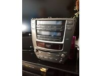 Lexus IS 220/250 heater unit and CD Player !