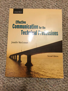 Effective Communications for the Technical Professions (2nd Ed.) Edmonton Edmonton Area image 1