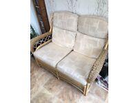 Sofa and 2 single chairs