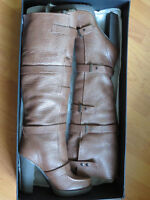 Brand New Victoria Secret Leather  Fall Tall Boots Size 8