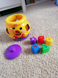 Fisher Price Musical Shape Cookie Jar