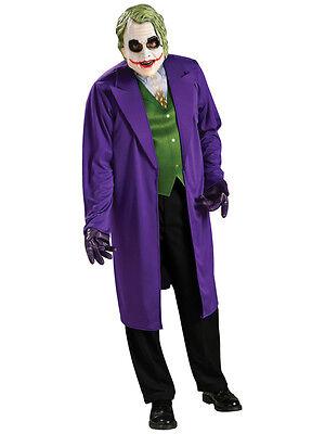 Adult The Joker Classic Fancy Dress Costume Batman Dark Knight Rises Outfit - Classic Joker Kostüm