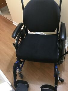 Excellent condition wheelchair wide seat