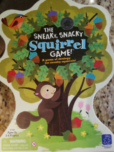 Sneaky, Snacking Squirrel Game