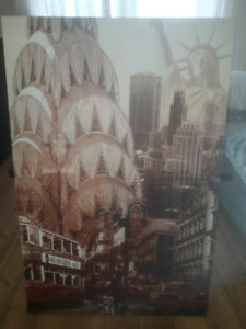 New York picture / wall art 3ft x 2ft