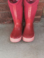 BOGS Winter Boots -Pink, size 1