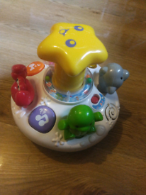 VTECH SPIN AND DISCOVER OCEAN FUN MUSICAL TOY