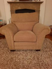 Armchair light brown