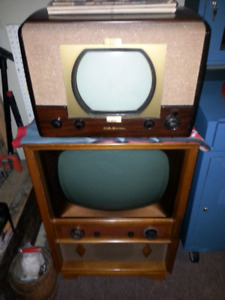 Vintage Black and White Tv collection