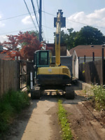 TRS excavating waterproofing and trucking