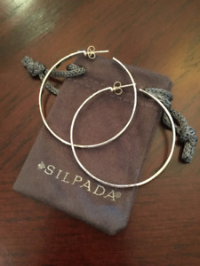 Silpada large dangling earrings