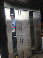 Used bakery gas oven.Rotative oven.