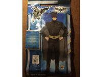 XL men's Batman/Dark night costume