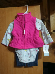 BNWT Baby girl clothes 0-3 months