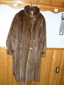 Mink Fur Coat (Eaton's Fur Salon) Been in Storage for Years