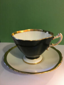 Vintage Teacup and Saucer Hammersley Set of Two