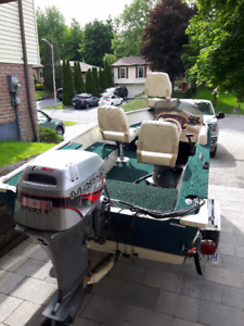 Legend Fishing Boat, 14ft with trailer