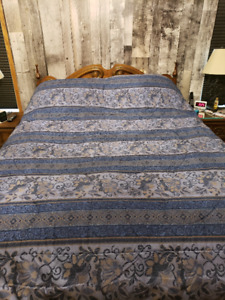 Double - Reversible Comforter Set - Price Reduced!