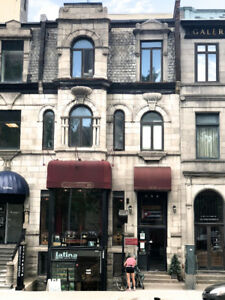 For RENT_1434 Sherbrooke Ouest 2+1 Available NOW!